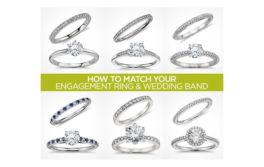 to style rings matching bands blog match and ring different engagement jewelry wedding mixing