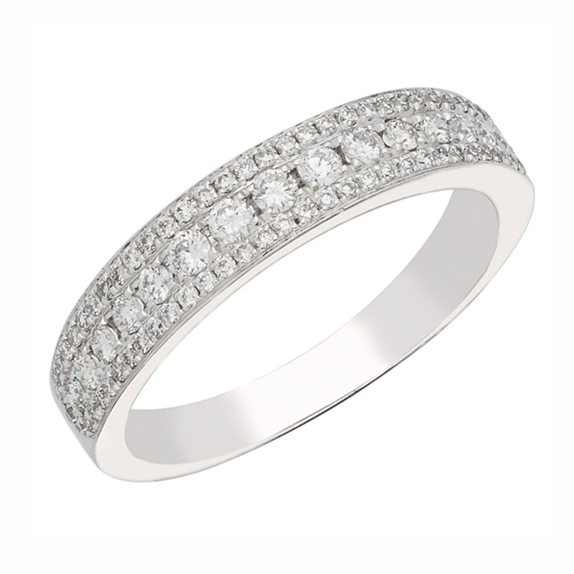 previously three ring diamond band contemporary products with silver gold rose bands stacking and